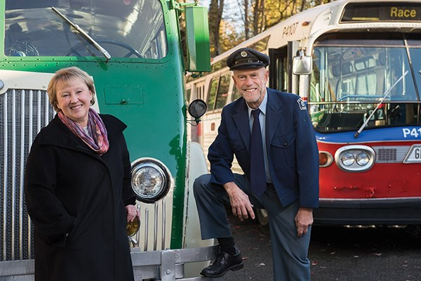 Lyanne and Angus, Transit collectors