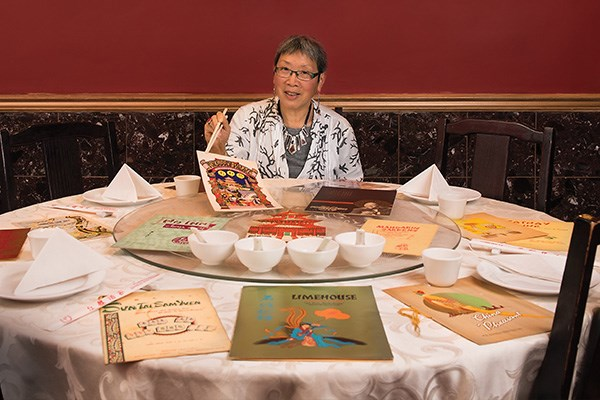 Imogene Lim, Chinese restaurant menu collector