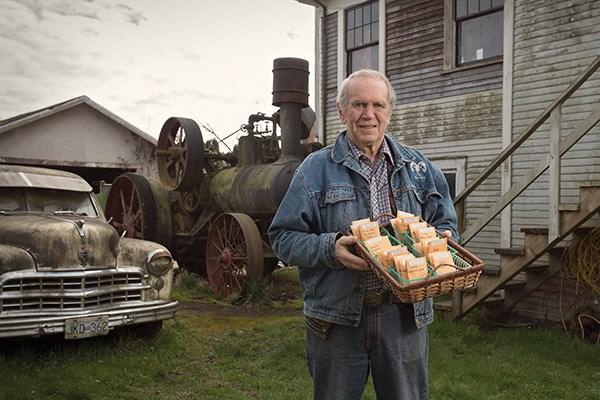 Harold Steves, heirloom seed collector