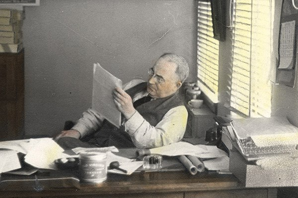 Major James Matthews, Vancouver's original collector/city archivist