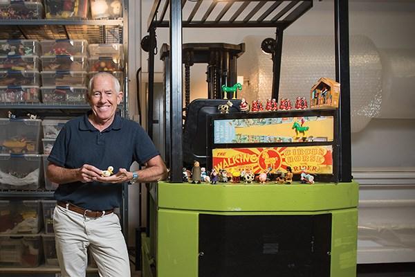 Ken Stephens, ramp walker toy collector