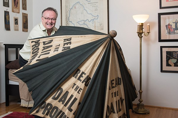 Neil Whaley, Vancouver memorabilia collector