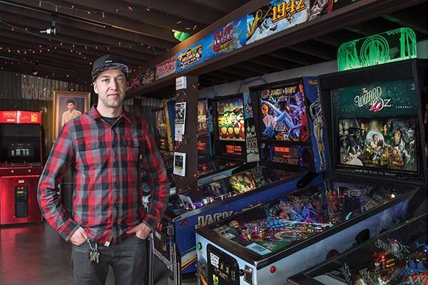 Kyle Seller, arcade and pinball game collector