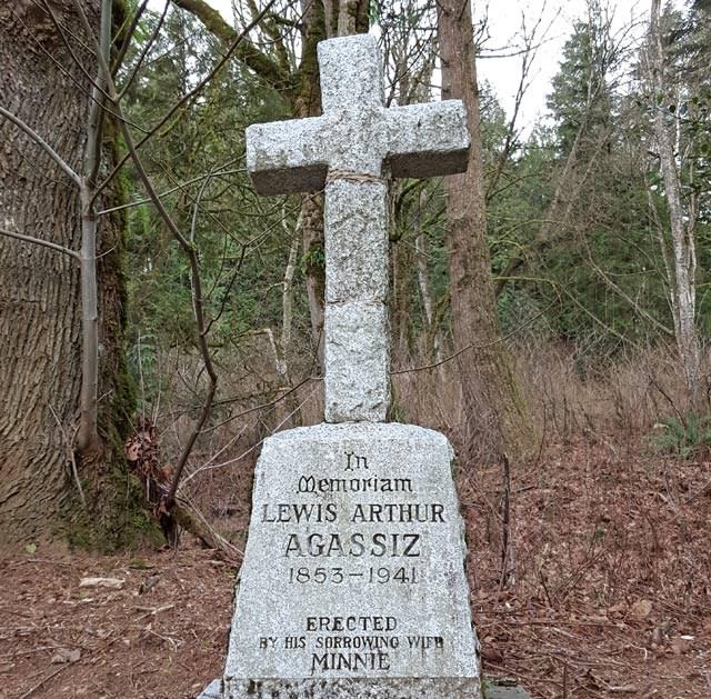 agassiz-grave