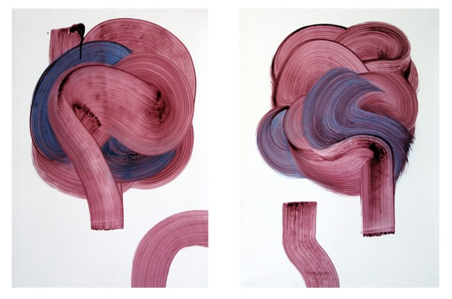 Keith Ikeda-Barry Inform and Describe (diptych)