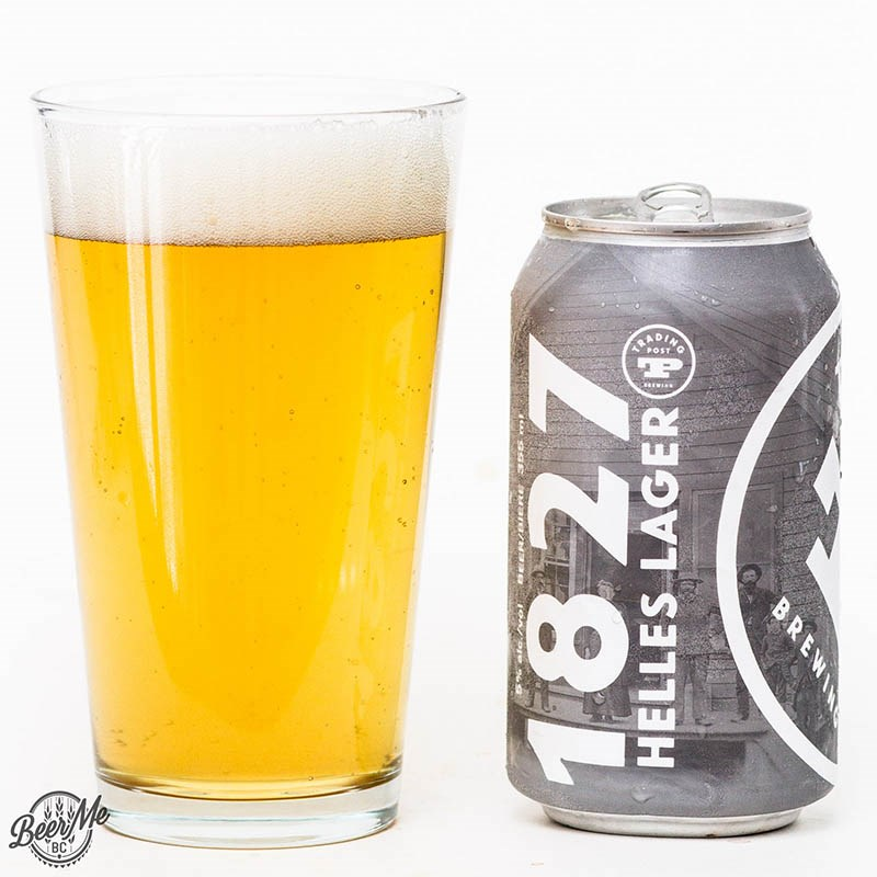 Beer Me BC - Trading Post 1827 Helles Lager