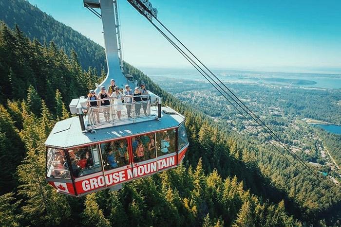 Photo: Grouse Mountain.