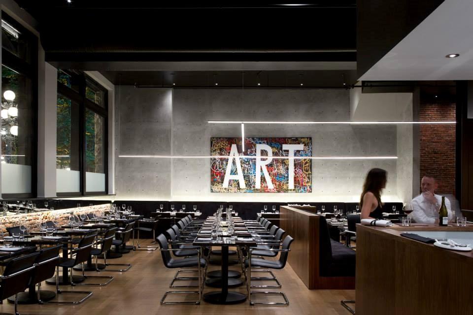 Photo courtesy: Bauhaus Restaurant. Photo credit: Ema Peter Photography. Bauhaus