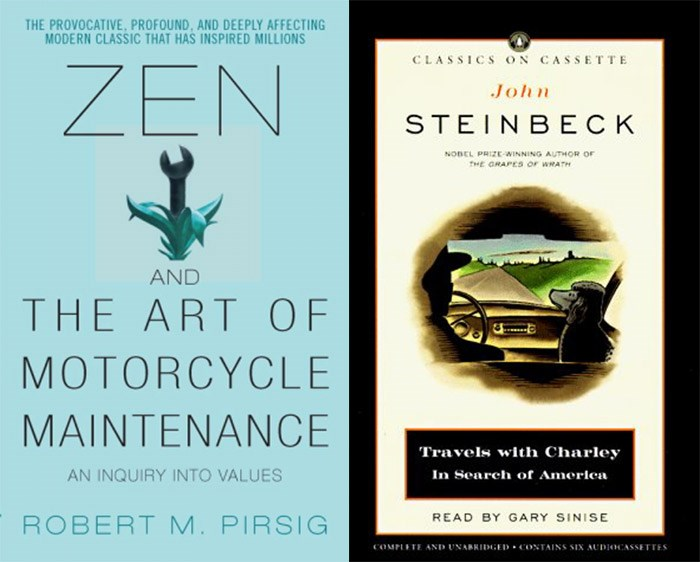 Zen and the Art of Motorcycle Maintenance | Travels with Charley in Search of America