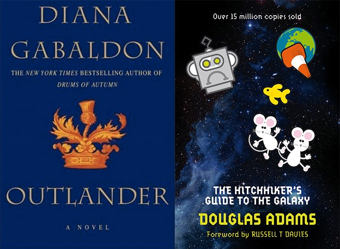 The Outlander | The Hitchhiker's Guide to the Galaxy