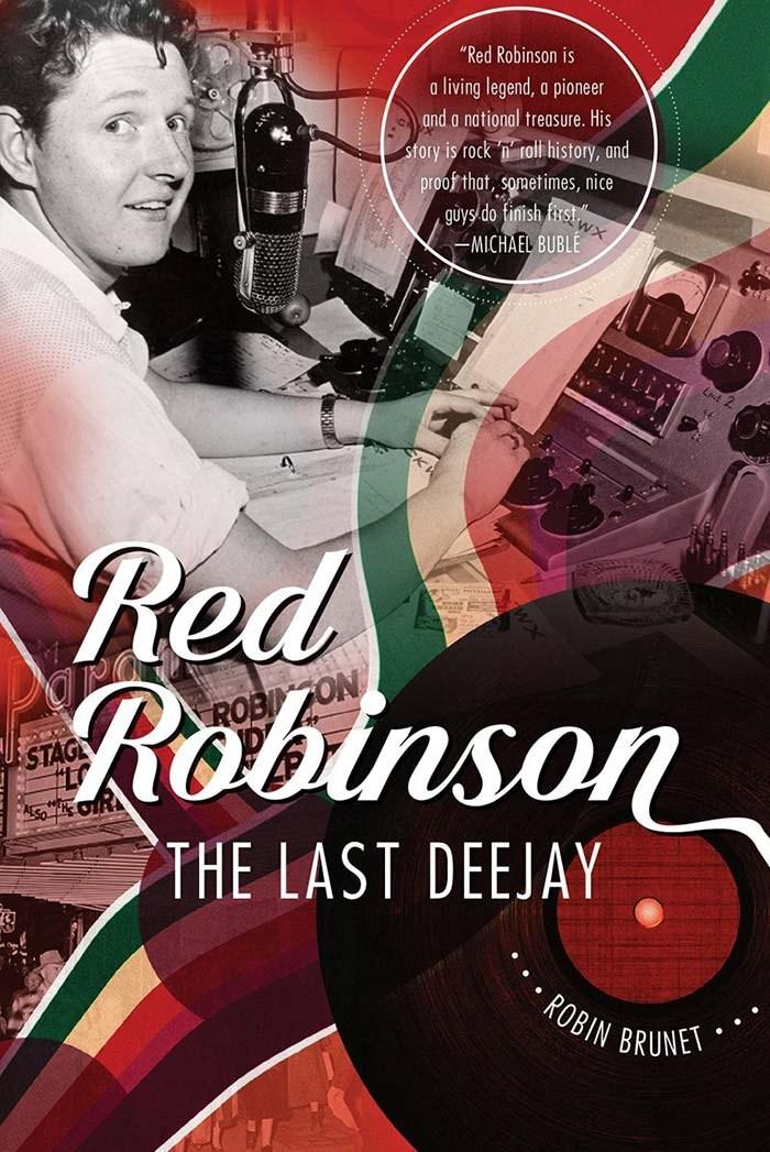 Red Robinson Last DJ Book