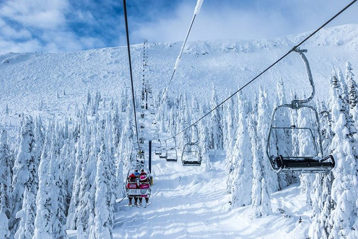 Photo: Big White Ski Resort.