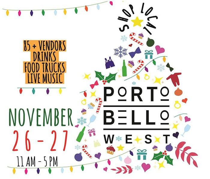 Portobello Holiday Market - 2016