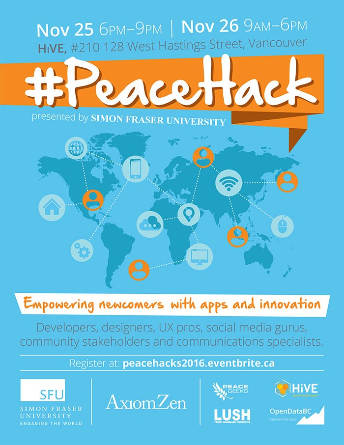 Peace Hack Poster 2016