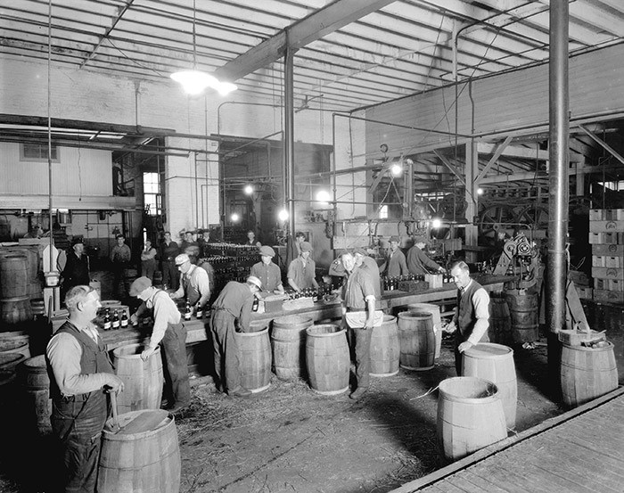 Vancouver Brewery, 1926. Photo Courtesy of the Vancouver Achives (CVA 99-3069).