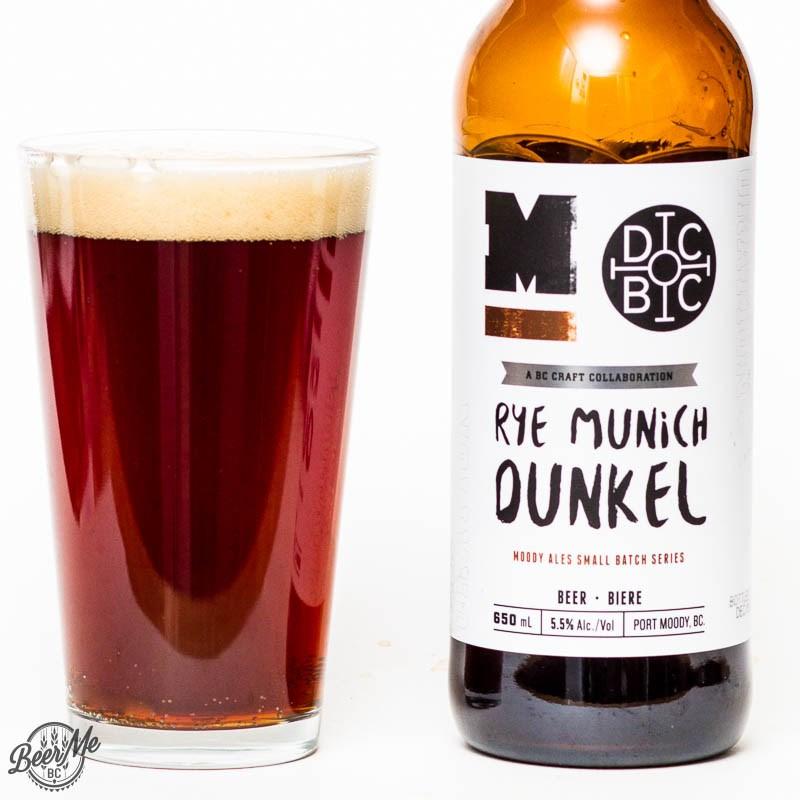 Beer Me BC - Moody Ales & Doan's Rye Munich Dunkel