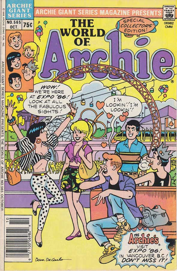 Archie Cover 86