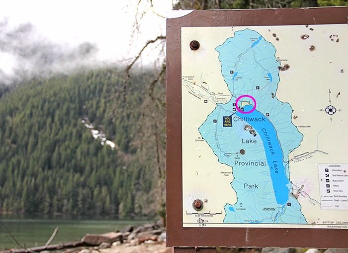 Chilliwack Lake Provincial Park boundaries