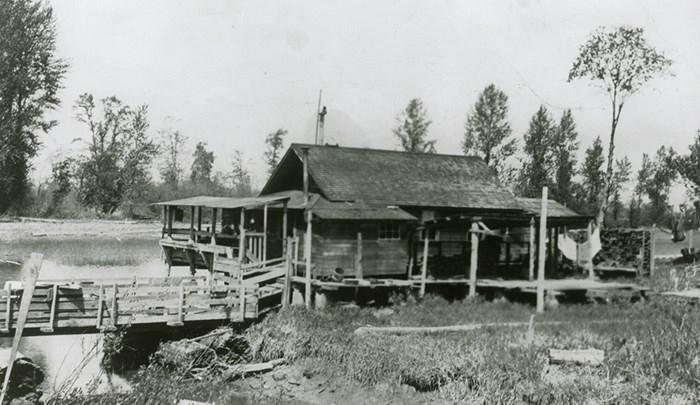 Greek settlement on Deas Island fromThe Monster Cannery.