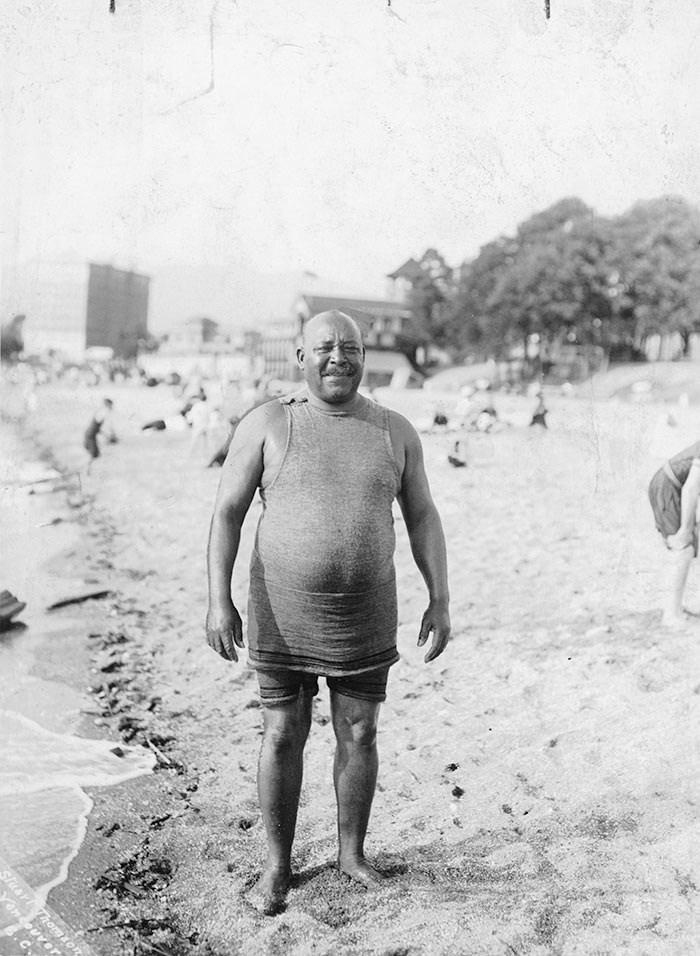 Joe's Beach. Photo: City of Vancouver Archives.