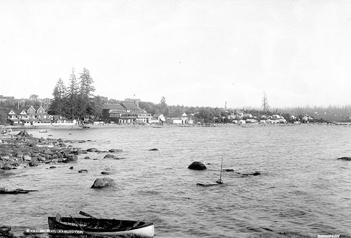 English Bay in 1898. Photo: City of Vancouver Archives.