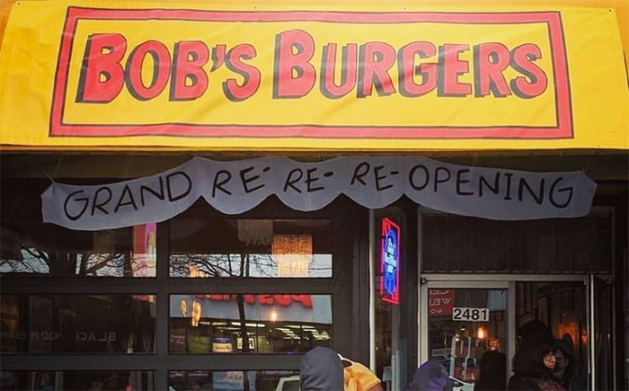 Bob S Burgers Cartoon Restaurant To Appear In Hastings Sunrise Vancouver Is Awesome