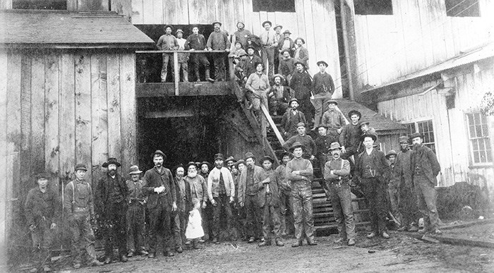 Employees of Hastings Mill. City of Vancouver Archives (AM54-S4-: Mi P4)