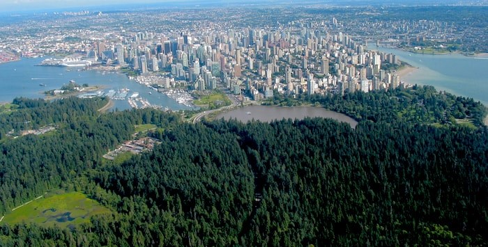 Stanley Park and Vancouver (