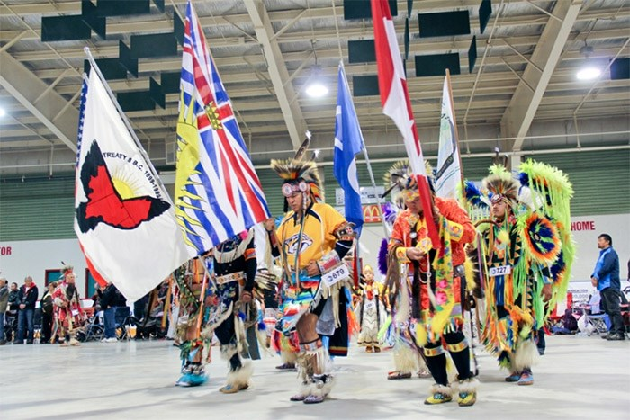 Spirit of the Peace Powwow 2017. Canada's growing aboriginal population is reflective of higher life expectancy and high fertility rates, along with more people self-identifying themselves as aboriginal, Statistics Canada says.   Photo By Haley LaBoucane