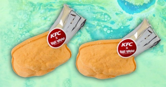 The KFC bath bomb is real and we know you want one.