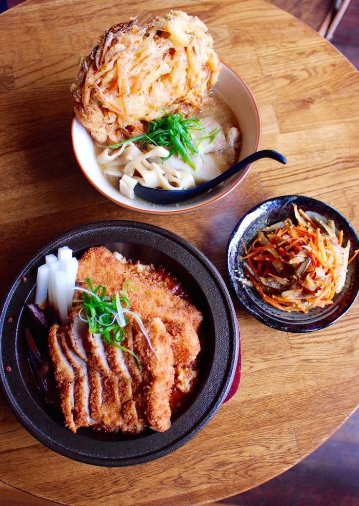 Photo: Udon and Tonkatsu (Lindsay William-Ross/Vancouver Is Awesome)