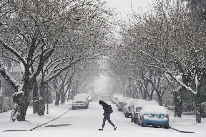 Last year, Vancouver residents faced unexpected amounts of snow. Photo Dan Toulgoet