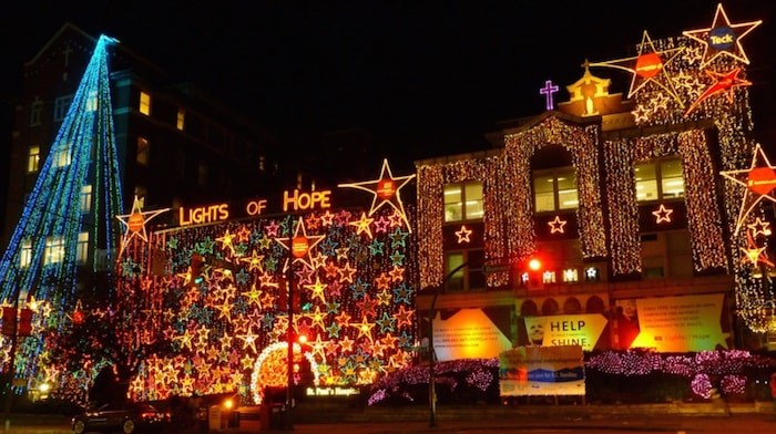 The community is invited to a free celebration at St. Paul's Hospital Nov. 16, which includes fireworks, hot chocolate, choirs and the lighting of the Lights of Hope.