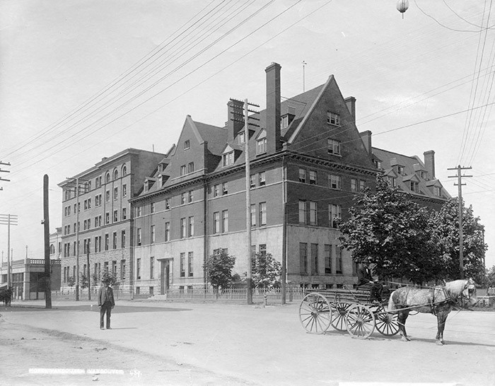 Hotel Vancouver, 1900. Photo: Vancouver Archives Item: