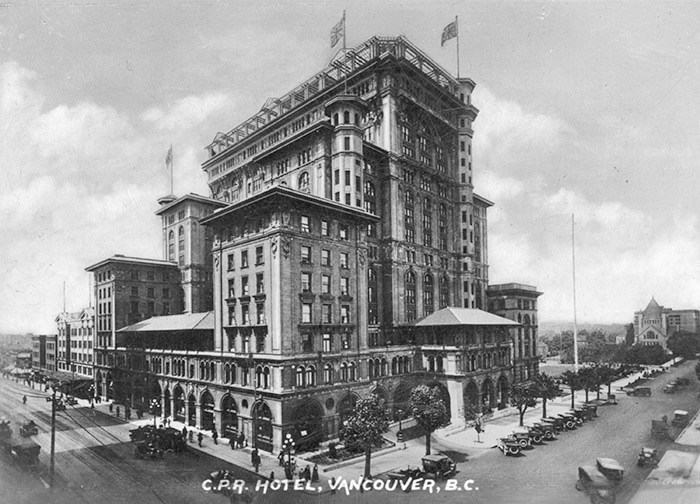 Hotel Vancouver, 1917. Photo: Vancouver Archives Item:
