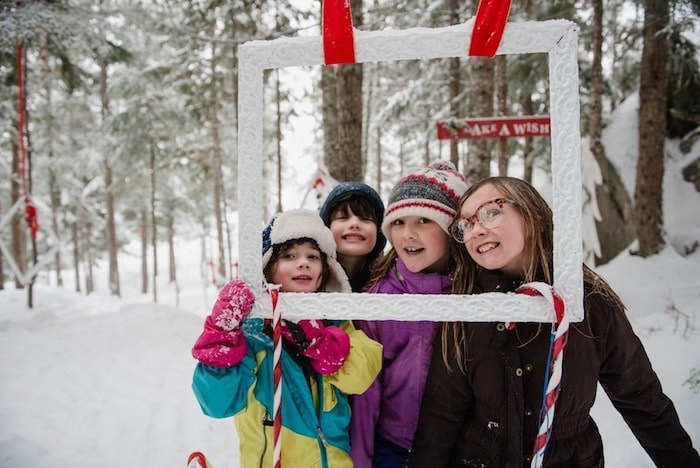 Sea to Sky Gondola: Spirit of Christmas includes many winter and holiday activities, including trail walks and visits with Santa.