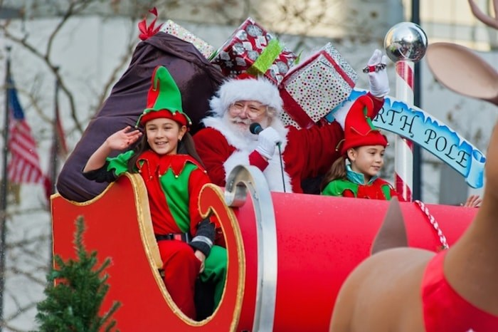 The annual Santa Claus Parade takes place in downtown Vancouver Dec. 3