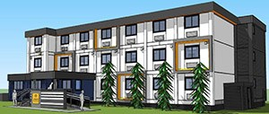 Rendering for 650 W 57th Ave. Photo: City of Vancouver