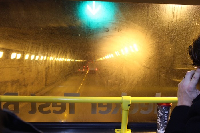 Inside the Massey Tunnel (Lindsay William-Ross/Vancouver Is Awesome)
