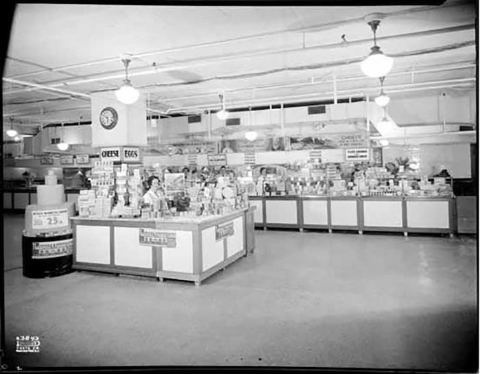 Woodward's Food Floor. Photo: VPL Archives, Item: 24699