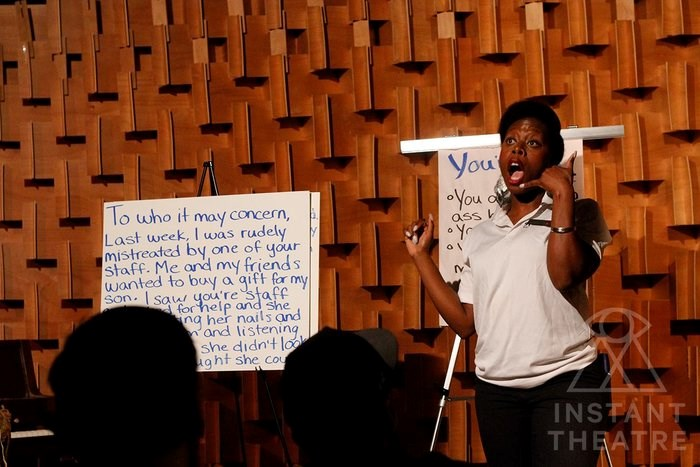 Blind Tiger Comedy instructor, Ese Atawo / Instant Theatre