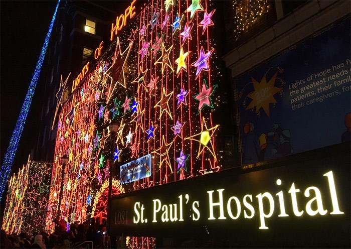 Lights of Hope display. Photograph By Martha Perkins