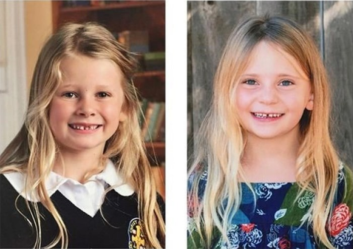 Chloe Berry (left), 6, and Aubrey Berry, 4, were found dead in a home in Oak Bay, B.C., on Christmas Day. THE CANADIAN PRESS/HO