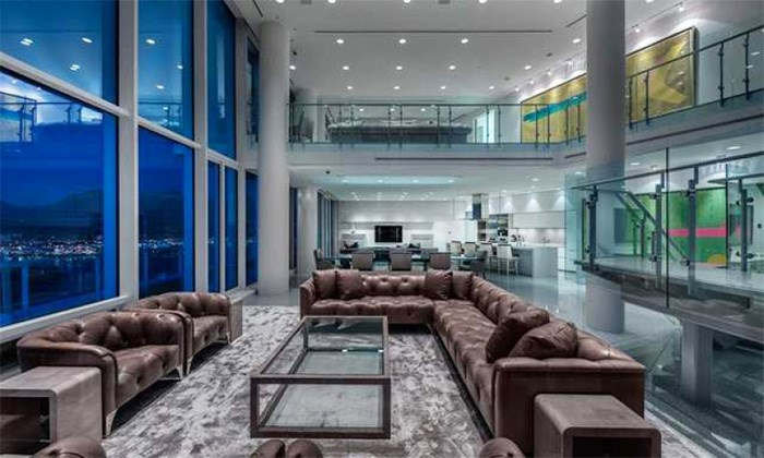 Penthouse 2 at the Fairmont Pacific Rim in downtown Vancouver is back on the market for a cool $29,998,000.
