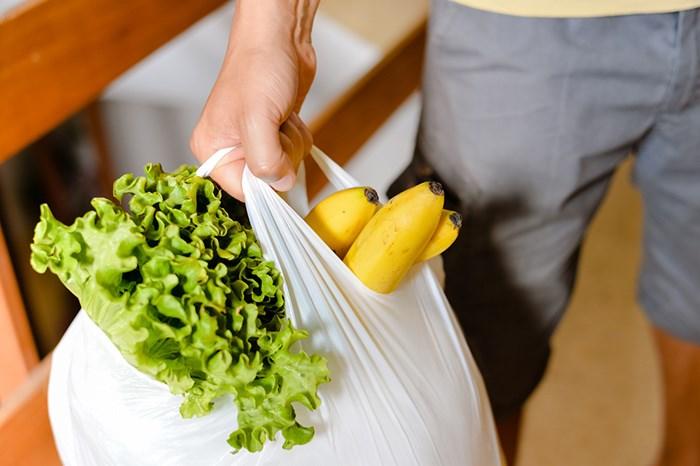 Plastic grocery bag/Shutterstock