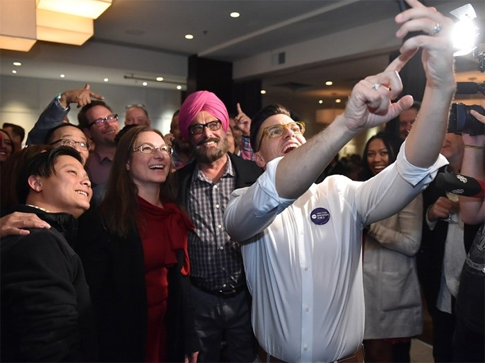The NPA's Hector Bremner won the Oct. 14 byelection to become a city councillor. Elections BC documents released Monday show how much he and other candidates spent in the race. Photo Dan Toulgoet