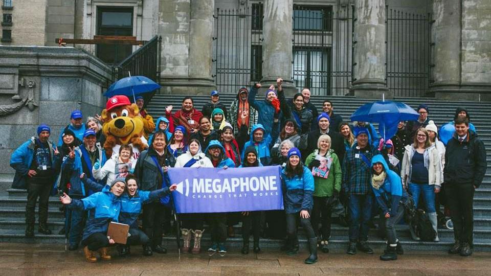 Photo: Megaphone Magazine Facebook