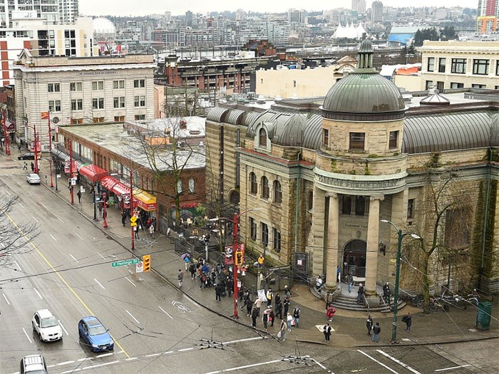 Vancouver police announced this week the department will be increasing the number of officers patrolling the Downtown Eastside. Photo Dan Toulgoet