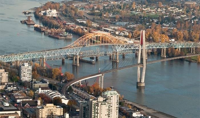The Pattullo Bridge. File photo