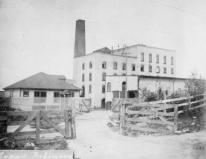 B.C. Sugar Refinery, 1891. Vancouver Archives Item: 2011-092.2107